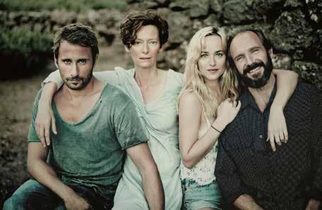 A Bigger Splash, Matthias Schoenaerts, Tilda Swinton, Dakota Johnson, Ralph Fiennes
