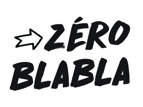 """Résultat de recherche d'images pour """"logo zéro blabla"""""""