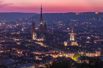 Rouen panorama_