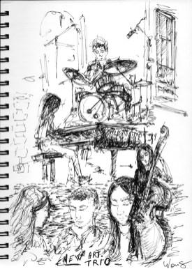 New art, Trio de jazz corée du sud , trés sympa, une douceur dynamique .