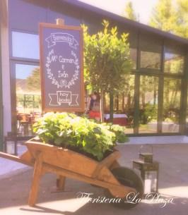 Floristería La Plaza en Cangas del Narcea Asturias. Flores bodas.