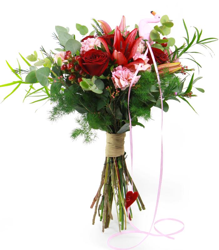 Ramo de flores para San Valentín