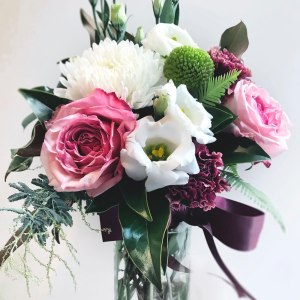 Flowers & Bouquets Berries & Cream Vase arrangement