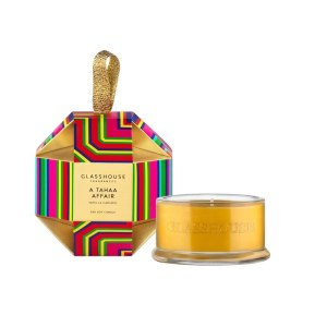 Candles A Tahaa Affair Bauble 30g- Glasshouse Candle