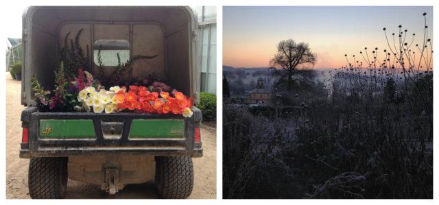 Flower truck at Chatsworth