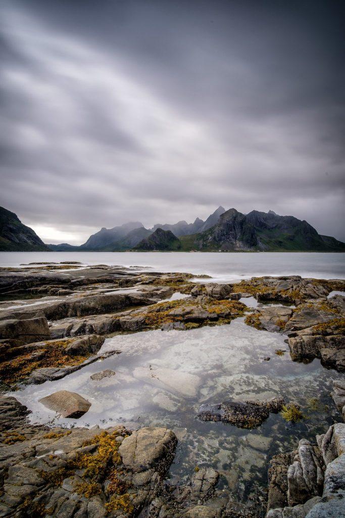 Küste bei Vareid, Flakstadøya