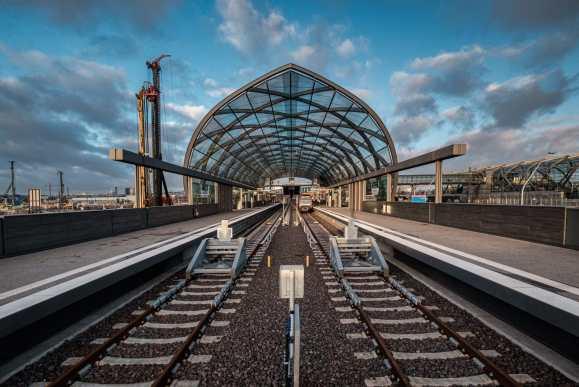 U Bahn Elbbrücken