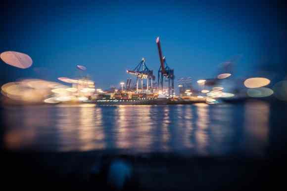 Im Hamburger Hafen mit dem MIR 37mm f2.8