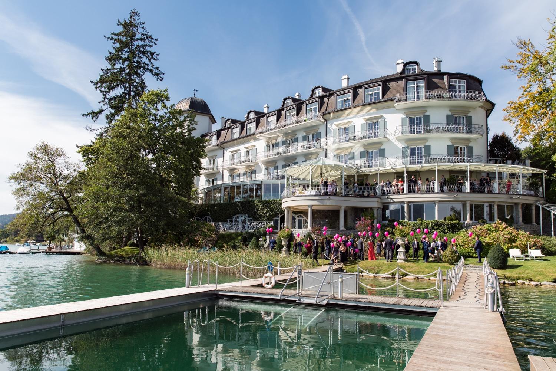hochzeitslocation-Hotel Schloss Seefels Poertschach