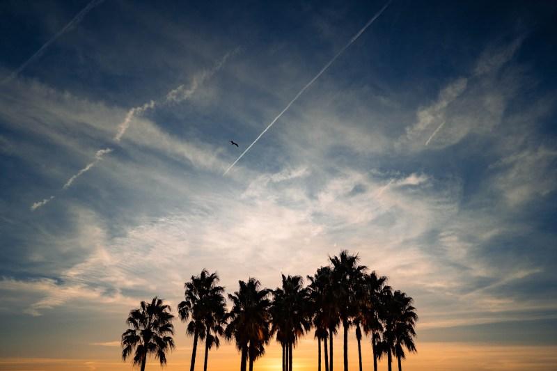 sunset barcelona