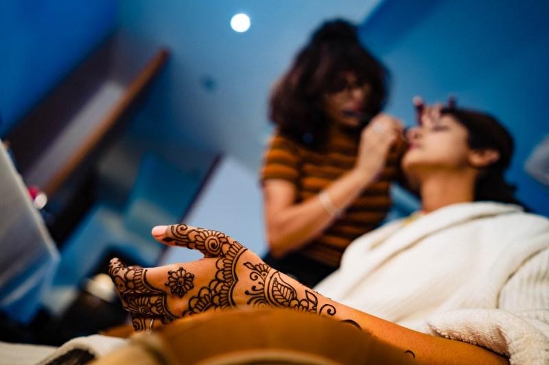 bride-henna