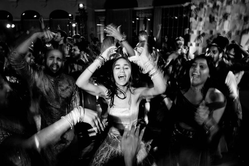 Barcelona Hochzeit-party