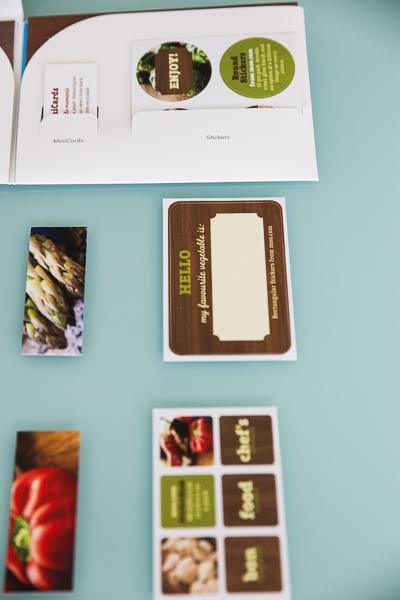 Minicards und Stickers