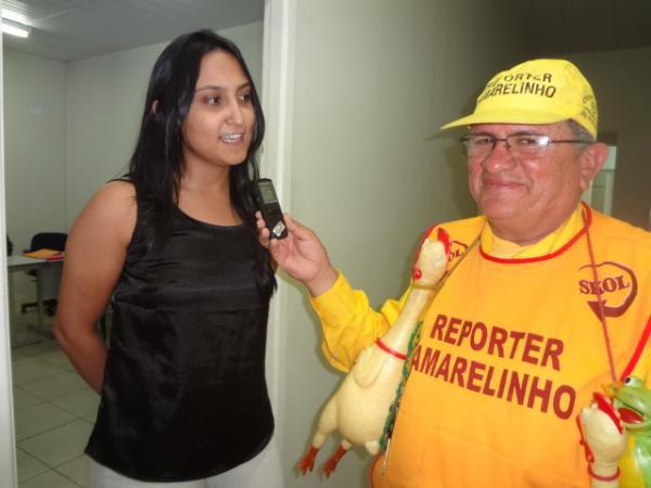 Luana Alves, delegada da mulher de Floriano.(Imagem:FlorianoNews)