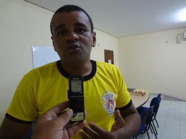 Osael de Sousa, Presidente do SINSPEM - FLO.(Imagem:FlorianoNews)