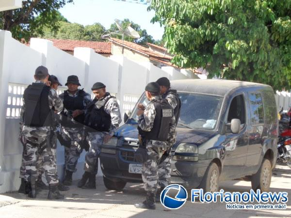 Força Tática prende acusado de latrocínio na zona rural de Floriano.(Imagem:FlorianoNews)