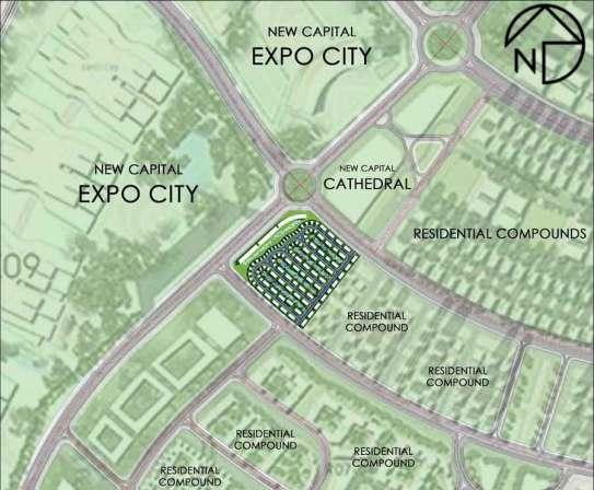 موقع ميد تاون العاصمة الإدارية الجديدة midtown new capital city (2)