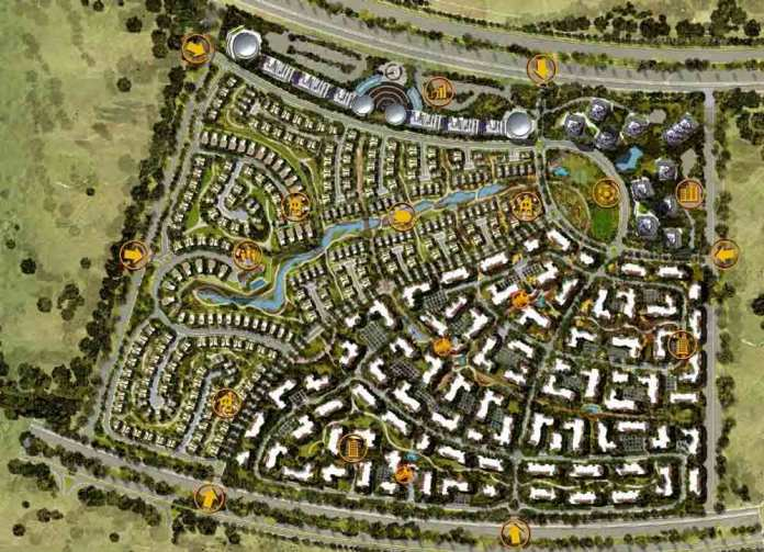 تصميم كومباوند ال بوسكو العاصمة الإدارية الجديدة il bosco new capital city (5)