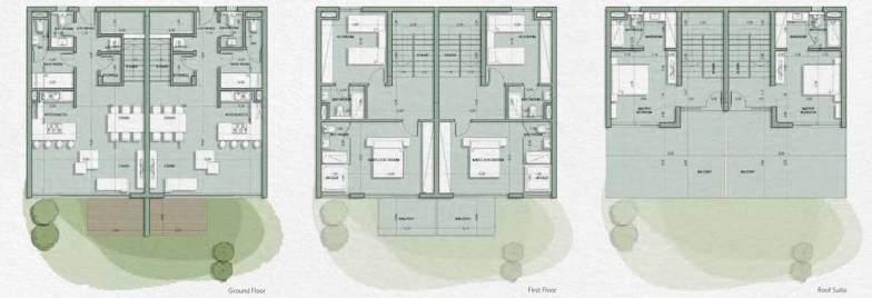 villa twin house in il monte galala maesta