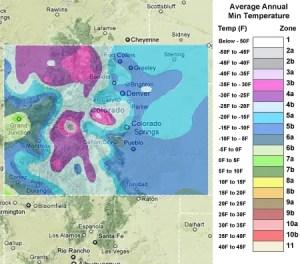 Colorado Zones