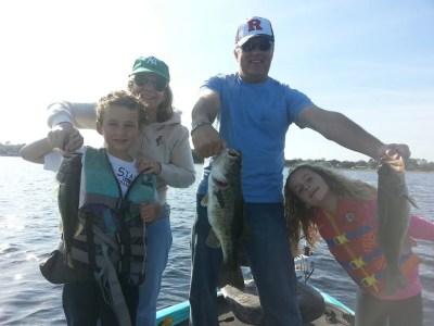 Lake Toho Bass Fishing Family