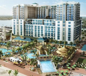 Rendering of Margaritaville Hollywood Beach Resort. Photo: City of Hollywood