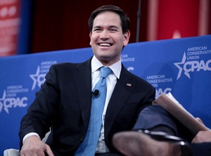 Rubio speaking at the 2015 Conservative Political Action Conference (CPAC) in National Harbor, Maryland Photo: Gage Skidmore via Wikimedia