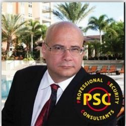 Willie Perez, regional security manager for Professional Security Consultants