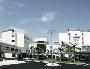 Fort Lauderdale's Broward Health Medical Center, flagship of the North Broward Hospital District.
