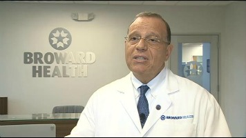 The late Dr. Nabil El Sanadi, Broward Health's chief executive. Photo: WSVN