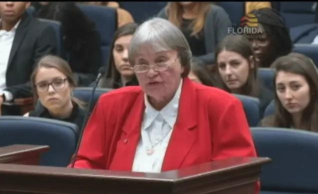 NRA lobbyist Marion Hammer