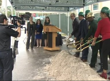 BSO training center groundbreaking