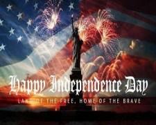 Amerika Feiert Am 4ten Juli Geburtstag