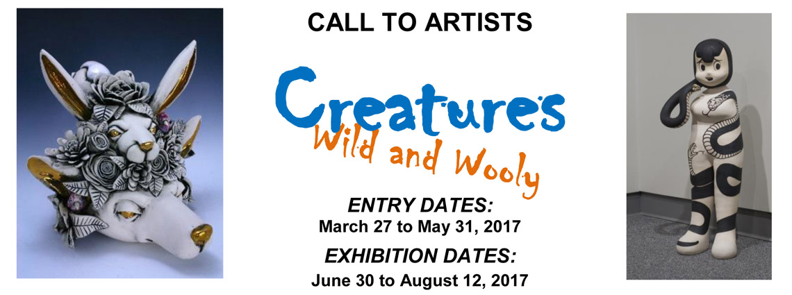 Call to Artists-Creatures Wild and Wooly Florida CraftArt Exhibition