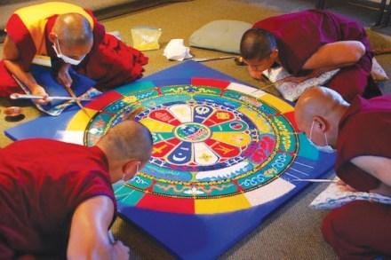 florida craftart mandala and monks
