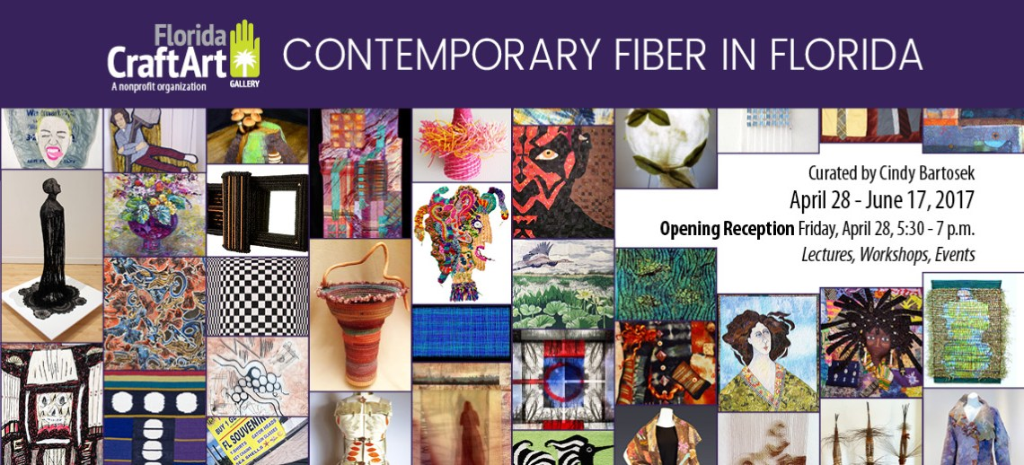 Contemporary Fiber Florida CraftArt Events in St Petersburg