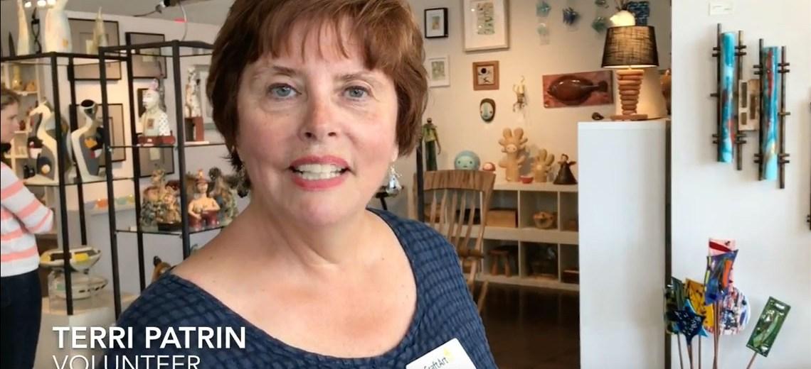 Florida CraftArt Volunteer Spotlight – Terri Patrin