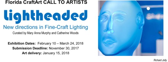 Call to Artists Lightheaded exhibition