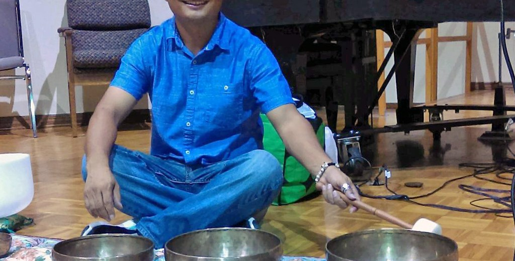 Tibetan Singing Bowls with Alex Gopali