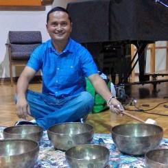 Tibetan Singing Bowls with Alex Gopali