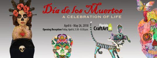 Dia de los muertos exhibition florida craftart