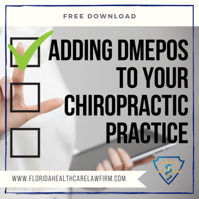 Adding DMEPOS to Your Chiropractic Practice