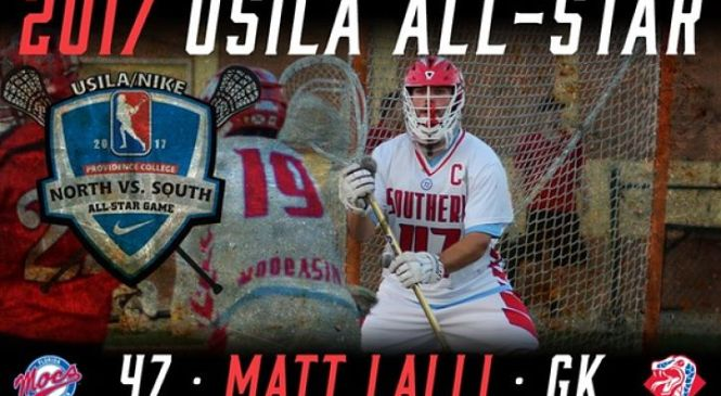FSC:  Lalli Named to South Squad for USILA/Nike All-Star Game!