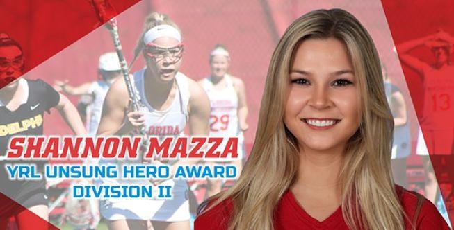 FSC Women:  Mazza Named YRL Unsung Hero for Division II