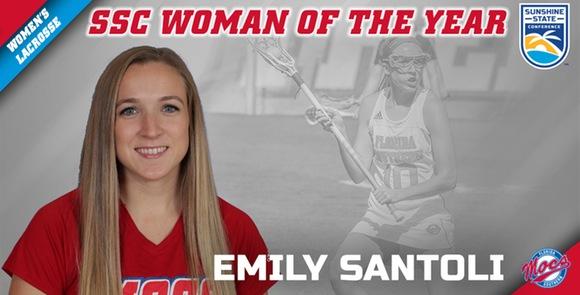 FSC:  Santoli Named SSC Woman of the Year