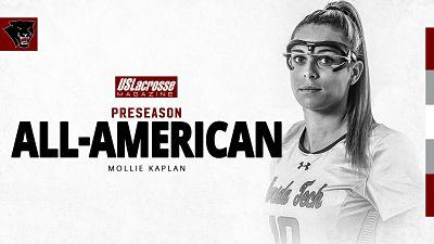 FIT Women:  Kaplan Named Preseason All-American