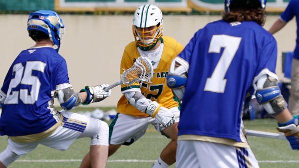 SSC Men:  Saint Leo Men's Lacrosse Comes Up Short at Rollins, Losing 15-13