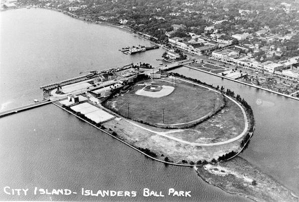 Florida Memory Aerial Photograph Of City Island And