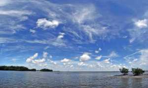 10,000 Islands sky view