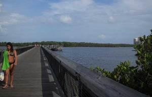 MacArthur Beach State Park boardwalk, North Palm Beach, Florida